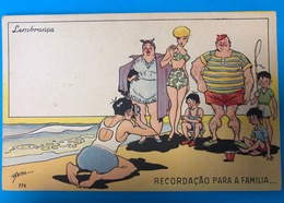 Benz Editora Sudamericana  Serie Humoristica 1962 - Künstlerkarten