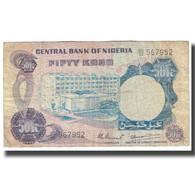 Billet, Nigéria, 50 Kobo, KM:14d, TB - Nigeria
