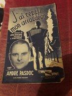 Partition 4 Pages J'ai Repris Mon Accordeon Andre Pasdoc - Musique