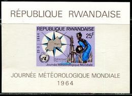 DA1383 Rwanda 1964 Clean Water And Map M MNH - Rwanda