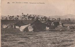 Carte Postale Ancienne - Scène Et  Types - Campement De Nomades - Escenas & Tipos