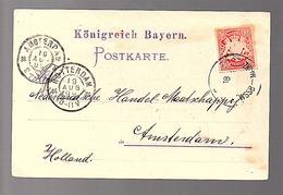 1899 WSSB-MAINZ Frankenthal Schnellpressen-Fabrik > Amsterdam (256) - Bayern