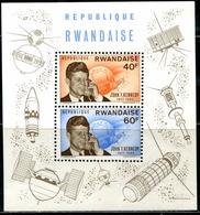 DA1385 Rwanda 1965 President Kennedy And Satellite S/S MNH - Rwanda
