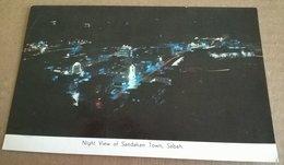 NIGHT VIEW OF SANDAKAN TOWN SABAH (383) - Malesia