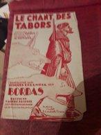 Partition 4 Pages  Le Chant Des Tabors Bordas - Musik