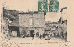 26--CLERIEUX--LES GRANDES MAISONS--VOIR SCANNER - Frankreich