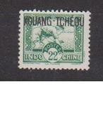 KOUANG TCHEOU         N°  YVERT   132       NEUF SANS GOMME       ( SG   1/34 ) - Unused Stamps