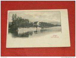LIEGE -   Le Pont Suspendu  -  1901 - Liege