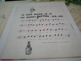 ANCIENNE PUBLICITE JE SUIS MARIE QUART PERRIER 1964 - Affiches