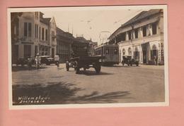 OLD PHOTO POSTCARD - INDONESIA - TRAM - SOERABAIA - WILLEMSKADE - Indonesia