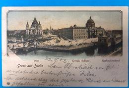 Gruss Aus Berlin 1903 Litho - Mitte
