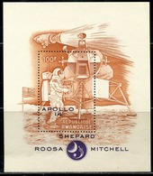 DA1399 Rwanda 1970 Human Landing Successful Engraving Edition Sheetlet Cover MNH - Rwanda