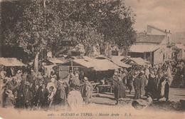 Carte Postale Ancienne - Scène Et Types - Marché Arabe - Algerije