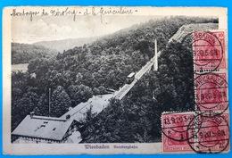1920 Wiesbaden Nerobergbahn - Funicular Railway