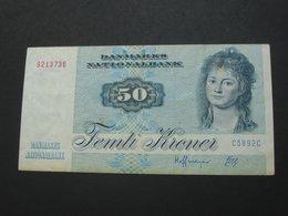 50 Femti  Kroner 1972-1978 - DANEMARK - Danmarks Nationalbamk  **** ACHAT IMMEDIAT *** - Danemark
