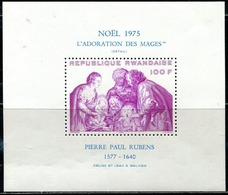 DA1415 Rwanda 1975 Rubens Painting Engraving S/S MNH - Rwanda