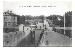 18/ CHER... CUFFY- LE GUETIN. L'Ecluse. Bassin Du Canal... PENICHE - France