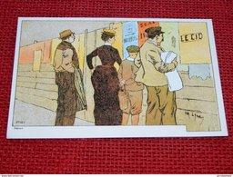"""A. LYNEN Illustrateur - Collection """"De-ci, De-là, à Bruxelles Et En Brabant""""  - Reproduction - Lynen, Amédée-Ernest"""