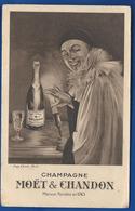 Carte Publicitaire    Champagne MOËT Et CHANDON   Pierrot - Werbepostkarten
