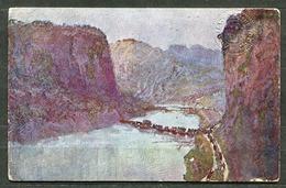 CV2840 CROCE ROSSA Cartolina Commemorativa Della IV Guerra Per L'Indipendenza, L'Adige (verso Chizzola), Ill. T. Cascell - Croce Rossa