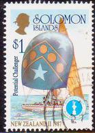 SOLOMON ISLANDS 1986 SG #572 NEW ZEALAND II 1987 Used America's Cup - Solomon Islands (1978-...)