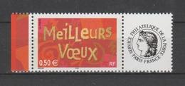 FRANCE / 2003 / Y&T N° 3623A ** : Meilleurs Vœux (entreprises) Vignette Cérès BdF G - Gomme D'origine Intacte - Francia