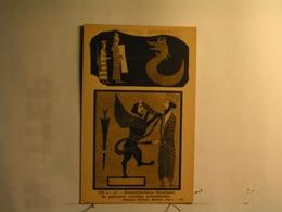 Reconstitutions Théoriques De Peintures Murales Achéménides - Iran