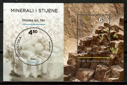 Croatia 2016 Croacia / Minerals Geology MNH Minerales Mineralien / Cu14503  4-15 - Minerales