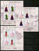 Korea North 1997 Corea / Folk Costumes MNH Trajes Típicos Folklore Kostüme / Cu12931  34-25 - Otros