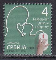 Serbia 2019 Child Safety On The Internet Definitive Stamp MNH - Informatica