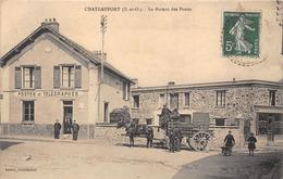 78-CHATEAUFORT- BUREAU DES POSTES - - Autres Communes