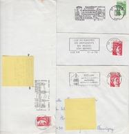 LOT De 4 ROULETTES SABINE - 1977-81 Sabine (Gandon)