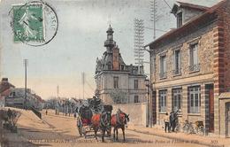 78-CONFLANS-SAINTE-HONORINE- L'HOTEL DES POSTES ET L'HÔTEL DE VILLE - Conflans Saint Honorine