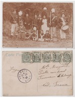Carte Photo Yves Gomezée   Marche Folklorique   1908 - Walcourt