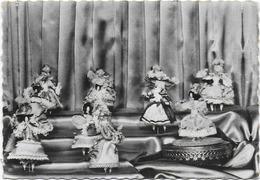 CPSM - FRESNAY SUR SARTHE - MUSEE DES COIFFES - POUPEES MUSICALES DE MADAME PHILIPPART - France