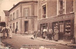 78-CRESPIERES-CENTRE DU PAYS LA POSTE - France