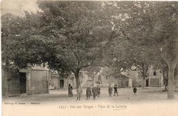 L' ISLE SUR SORGUE -Place De La Juiverie  (1322 ASO) - L'Isle Sur Sorgue
