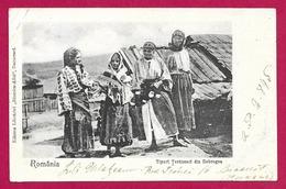 CPA România - Tipuri Teranesci Din Dobrogea - Roumanie