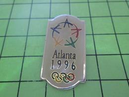 918c PINS PIN'S / Beau Et Rare : Thème JEUX OLYMPIQUES / ATLANTA 1996 - Jeux Olympiques