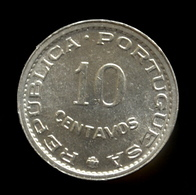 Sao Tome And Principe 10 Centavos 1971. UNC Coin Km15a - Sao Tome And Principe