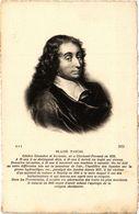 CPA BLAISE PASCAL. Savant Inventeur (287607) - Philosophie & Pensées