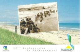 Cpm 14 UTAH BEACH * 60° ANNIVERSAIRE DU DEBARQUEMENT - Guerra 1939-45