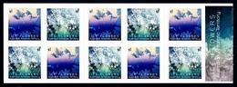 AUSTRALIAN ANTARCTIC TERRITORY (AAT) • 2016 • Ice Flowers - Booklet • MNH (10 Stamps) - Nuovi