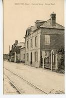 1487. CPA 27 DRUCOURT. ROUTE DE BERNAY. MAISON MESNIL - Francia