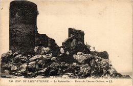 CPA Env. De St-ÉTIENNE - La ROCHETAILLÉE - Ruines De L'Ancien Chateau (294122) - Rochetaillee