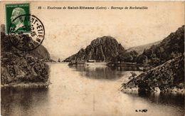 CPA Environs De St-ÉTIENNE - Barrage Du ROCHETAILLÉE (294132) - Rochetaillee