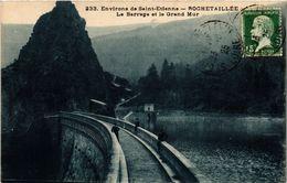 CPA Environs De St-ÉTIENNE - ROCHETAILLÉE - Le Barrage Et Le Grand Mur (294159) - Rochetaillee