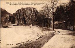 CPA Environs De St-ÉTIENNE-ROCHETAILLÉE-Le Barrage-La Promenade ... (294263) - Rochetaillee
