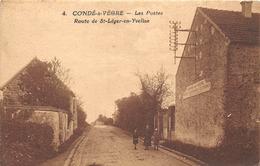 78-CONDE-SUR-VEGRE- LES POSTES, ROUTES DE SAINT-LEGER-EN-YVELINES - France