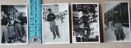 MONDOSORPRESA, ( FT4) LOTTO 4 MINI FOTOGRAFIE ORIGINALI ORVIETO- GIOVANI BALILLA - Album & Collezioni